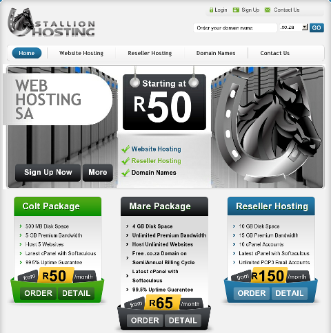 Stallion Hosting New Look
